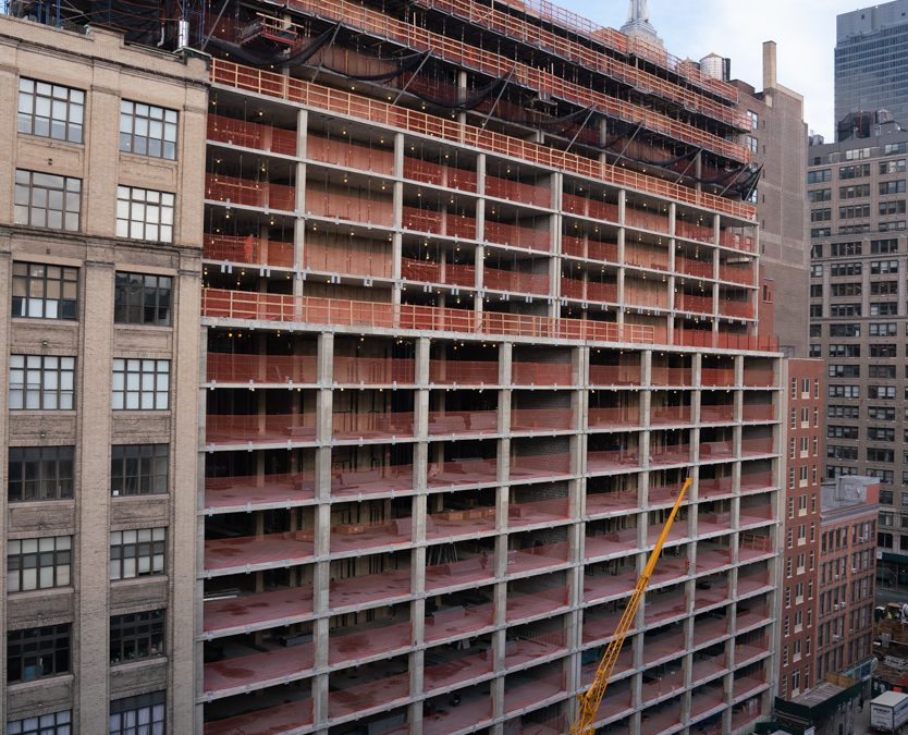 Construction Tops Out On Maverick At 215 West 28th Street In Chelsea
