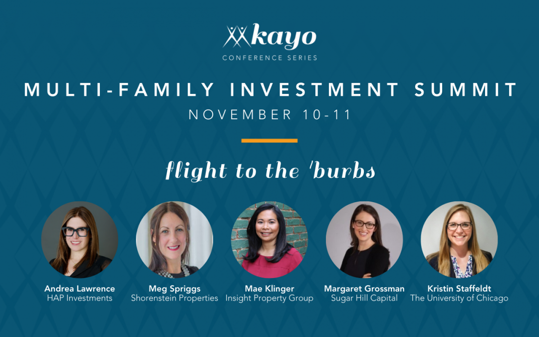 HAP's Andrea Lawrence to Speak at the Women's Multi-Family Investment Summit Hosted by Kayo