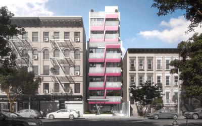 Karim Rashid's colorful East Harlem rentals debut from $2,500/month