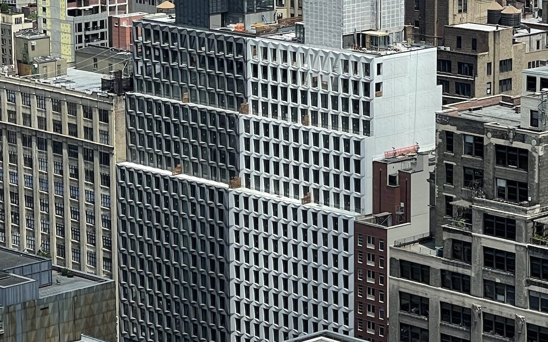 Maverick Wraps Up Exterior Work At 215 West 28th Street In Chelsea