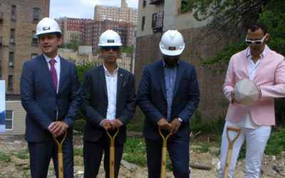 655 West 187th Street Groundbreaking