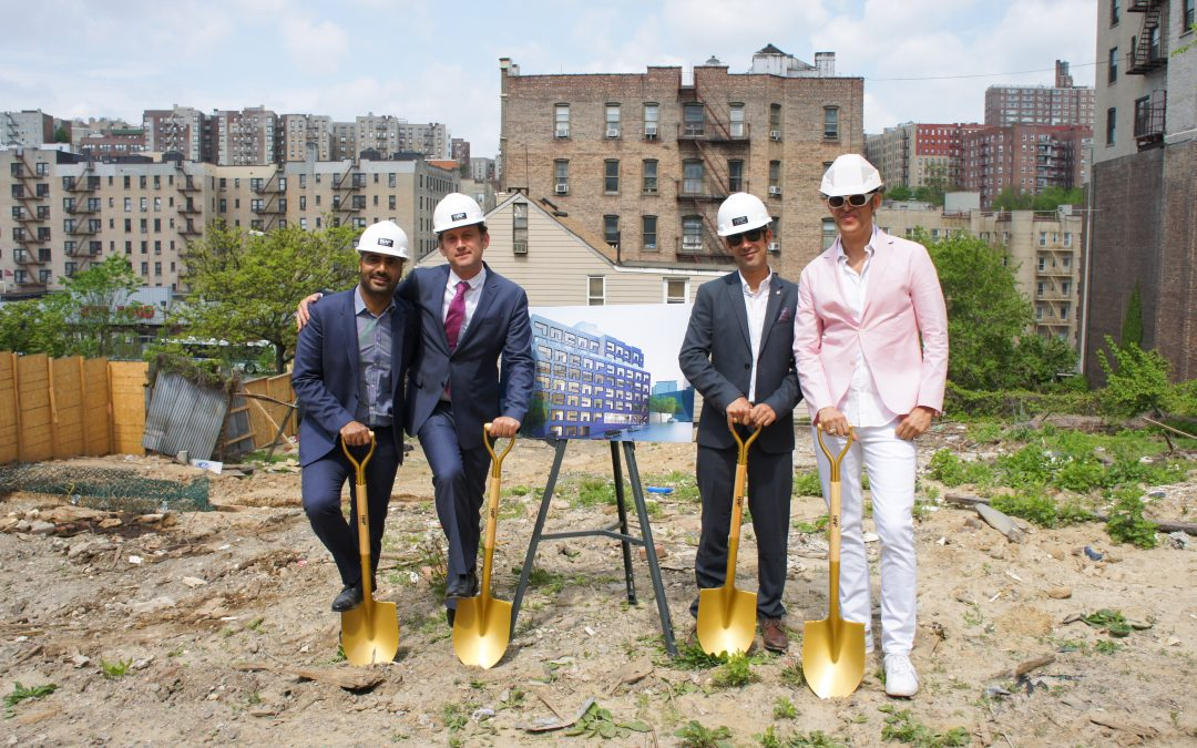 HAP breaks ground on new modular apartment building
