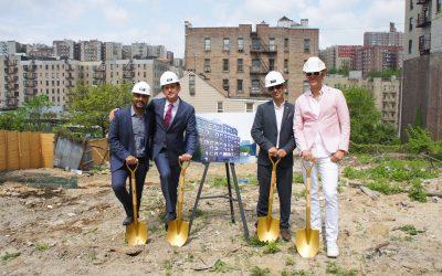 HAP breaks ground on new modular apartment building