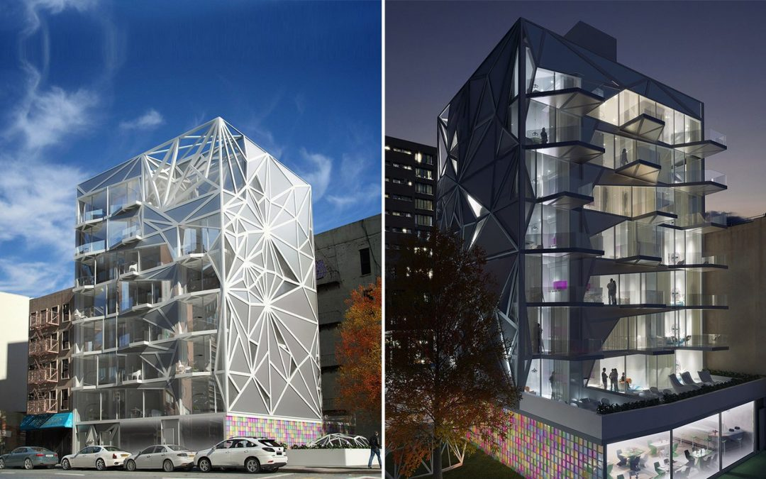 Diamond In The Rough | Karim Rashid Designs The Diamond Building For East Harlem