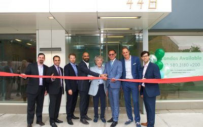 HAP Investments celebrates ribbon cutting of The Highbridge, a 39-unit condominium building