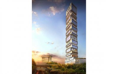 New Look: HAP Tower, 500 Summit Avenue, Journal Square