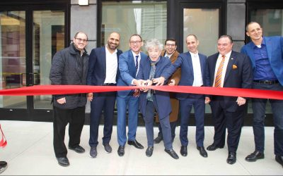 2211 Third Avenue Ribbon cutting